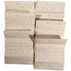 NV - Virginia City,Storey County - 1885-1886 - Mining Documents