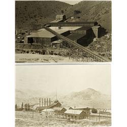 NV - Virginia City,Storey County - 1910 - Mining Views RPC Pair