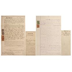 NV - Virginia City,Storey County - 1869, 1870 - Nevada Mining Documents - Clint Maish Collection