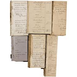 NV - Virginia City,Storey County - Savage Mine Detailed Receipt Books