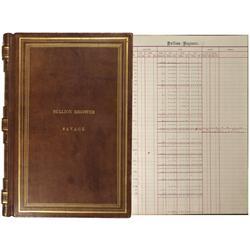 NV - Virginia City,Storey County - 1866-1868 - Savage Mining Company Bullion Register