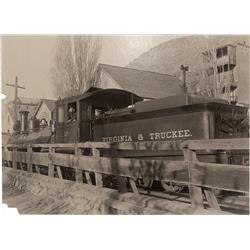 NV - Virginia City,Storey County - V&T Locomotive Photo