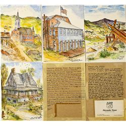 NV - Virginia City,Storey County - 1960 - Virginia City Artwork