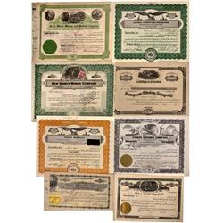 UT - 1916, 1954, 1928, 1970, 1973 - Utah and Colorado Mining Company Stocks Certificates - Fenske Co