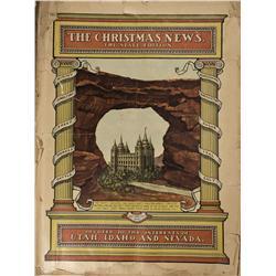 UT - Salt Lake City,Salt Lake County - 1905 - Christmas News. Tri-State Edition - Gil Schmidtmann Co