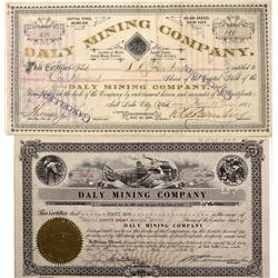 UT - Summit County,1887, 1955 - Summit County Area Mining Stock Certificates - Fenske Collection
