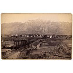 UT - Weber County,1880s - Ogden City Photo - Mueller Collection