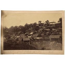 VA - c1875 - Narrow Gauge Railroad Photograph