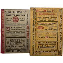 WA - Spokane,1915, 1922 - 1915 and 1922 Spokane Buyer's Guide and Directories