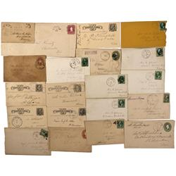 WI - 1880s-1910s - Wisconsin Covers