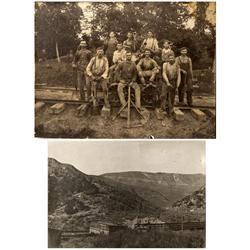 WY - c1910 - Railroad View Photographs