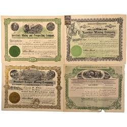 WY - Grand Encampment,Carbon County - 1901-1908 - Wyoming Stock Certificates - Fenske Collection