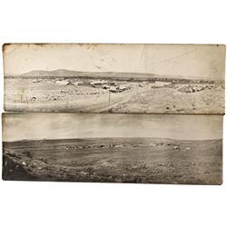 WY - Meeteetse,Park County - c1900s - Panoramic RPC's