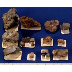 Miscellaneous Minerals, Odd Ore Species