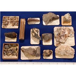 Miscellaneous Odd Mineral Species - Tennesee & North Carolina Area