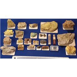 Vanadium & Uranium Specimens