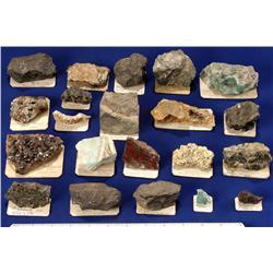 Zinc Mineral Specimens - USA & Mexico