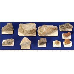 CA - Tungsten Ore Specimens - California