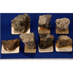 CO - Ouray,Ouray County - Gold and Silver Ore Specimens - Ouray, Colorado