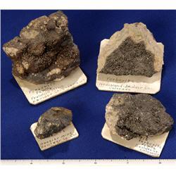 CO - Boulder,Boulder County - Tungsten Ore Specimens - Boulder, Colorado