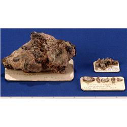 MI - Silver & Copper Specimens - Michigan