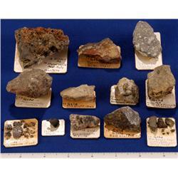 MT - Gold & Silver Specimens - Montana