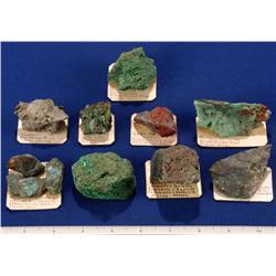 NV - Pioche,Lincoln County - Copper Minerals - Pioche Area, Nevada