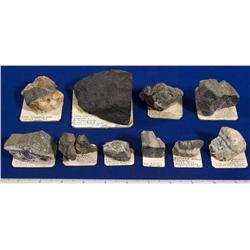 NV - Virginia City,Storey County - Copper Rich Specimens - Comstock Lode, Nevada
