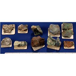 NV - Lander County - Copper Specimens - Battle Mountain Area, Nevada