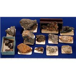 NV - Eureka & Ely,Eureka & White Pine Counties - Copper Specimens - Eureka & Ely, Nevada