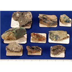 NV - Yerington,Lyon County - Copper Specimens - Yerington, Nevada