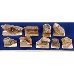 NV - Midas,Elko County - Gold & Silver Ore Specimens - Midas, Nevada