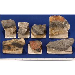 NV - Virginia City,Storey County - Gold & Silver Specimens-Con Virginia Mining Co.