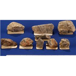 NV - Gold Hill,Storey County - Gold Specimens - Gold Hill, Nevada
