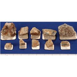 NV - Storey County - Gold Specimens - Virginia City, Nevada