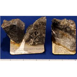 NV - Goldfield,Esmeralda County - Gold, Goldfieldite, Famatimite, & Bismothimite Specimens-Goldfield