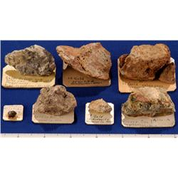 NV - Hawthorne,Mineral County - Gold, Miscellaneous Specimens - Hawthorne, Nevada