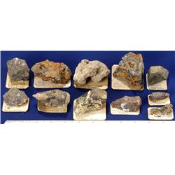 NV - Lead-Silver Ore Specimens - East-Central Nevada