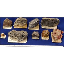 NV - Eureka,Lead-Silver Specimens - Eureka, Nevada