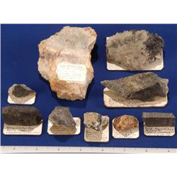 NV - Virginia City,Storey County - Miscellaneous & Gold Bearing Specimens - Virgina City, Nevada