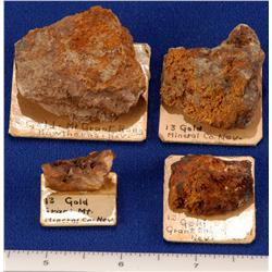 NV - Hawthorne,Mineral County - Miscellaneous Ore Specimens - Hawthorne, Nevada