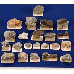 NV - Goldfield,Esmeralda County - Ore Specimens and Odd Gold Minerals- Goldfield, Nevada