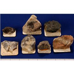NV - Tonopah,Nye County - Silver & Gold Ore Specimens - Tonopah, Nevada