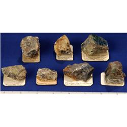 NV - Mineral County - Silver Ore Specimens - Nevada
