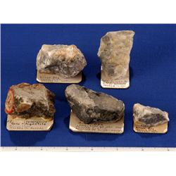 NV - Washoe County - Silver Specimens - Nevada