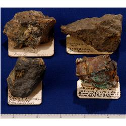NV - Elko County - Silver Specimens, Cornucopia - Nevada