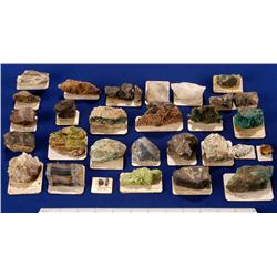 Miscellaneous Mineral Specimens - Europe, Asia, Africa & Americas