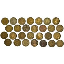NY - Buffalo,Erie County - 1859-1909 - Indian Head Pennies - Fell Collection
