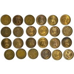 NY - Buffalo,Erie County - 1879-1909 - Indian Head Pennies - Fell Collection
