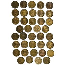 NY - Buffalo,Erie County - 1880-1901 - Indian Head Pennies - Fell Collection
